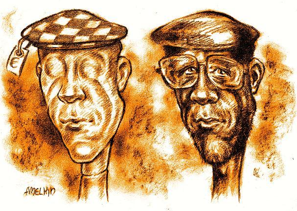 Schnellzeichner, Portraitzeichner und Karikaturist Amelkin, www.amelkin.de